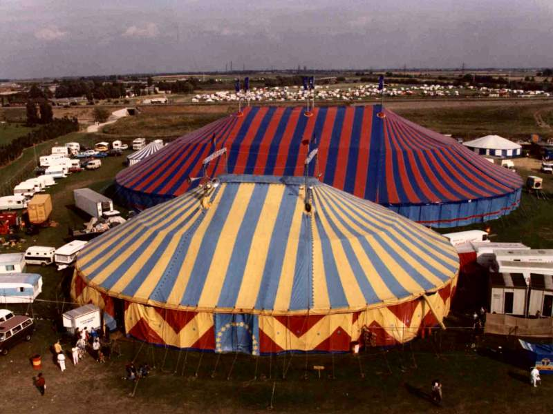 Big Tops And Circus Tents By Rudi Enos Design